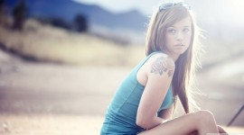 Tattoo Girl Iphone wallpapers