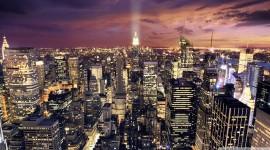 Manhattan Wide wallpaper