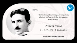 Nikola Tesla background