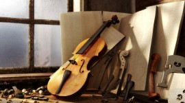 Violin for smartphone