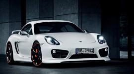 Porsche Cayman Wide wallpaper