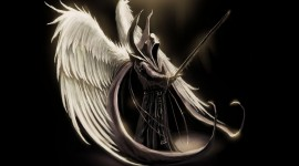 Angel Wide wallpaper