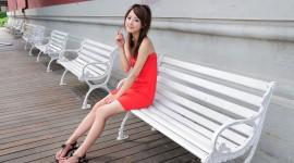 Asian Girl HD Wallpaper