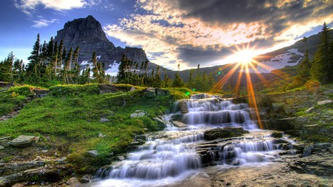 Waterfall wallpapers high quality