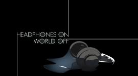 Headphones HD Wallpaper
