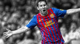 Lionel Messi Widescreen