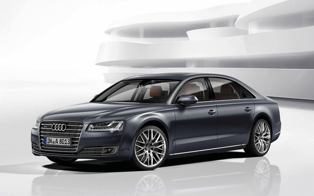 Audi A8 2015 wallpapers HD