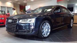 Audi A8 2015 Wide wallpaper