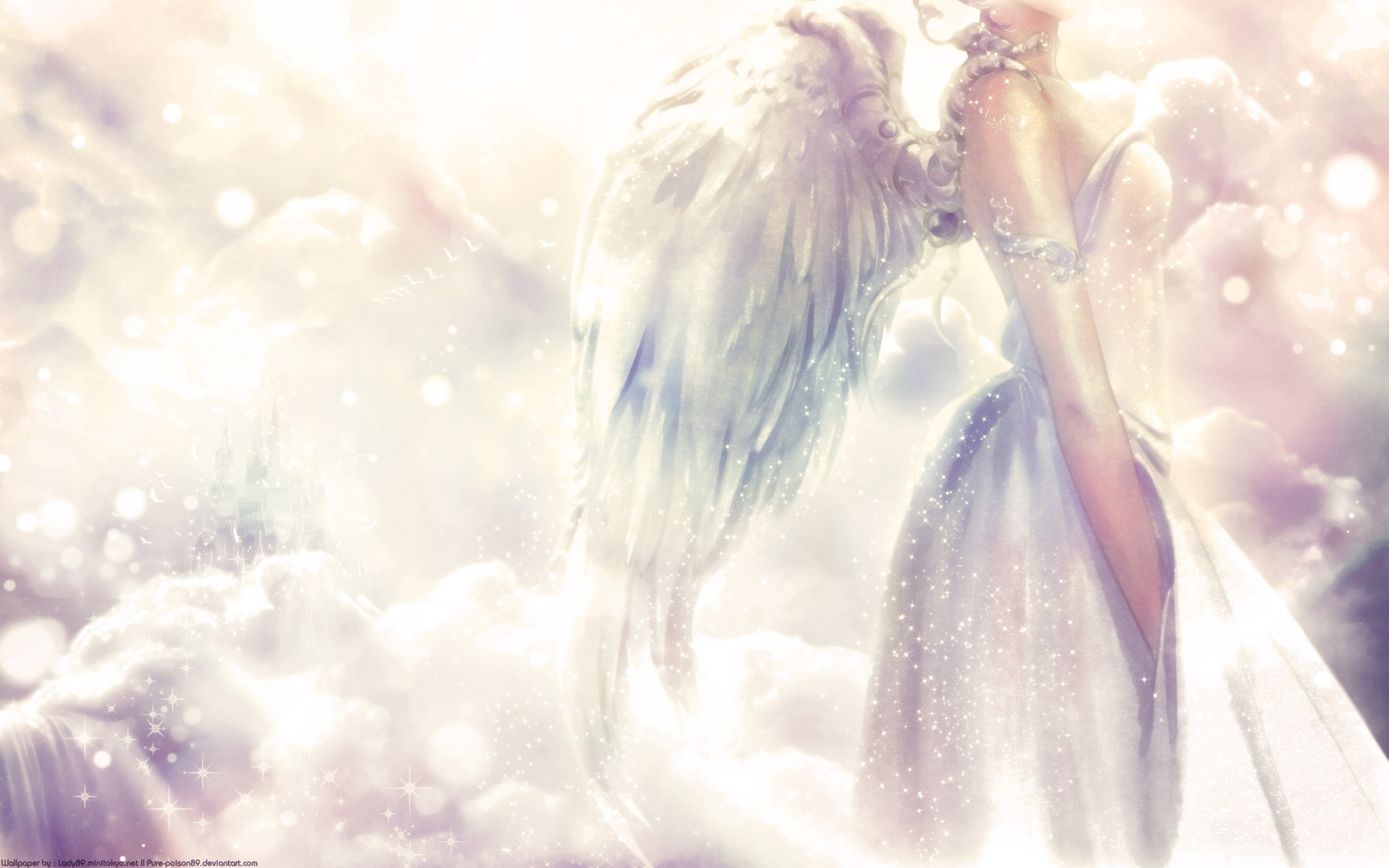 Angels Wallpapers For Desktop 3d: Angel Wallpapers High Quality
