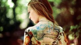 Tattoo Girl High Definition