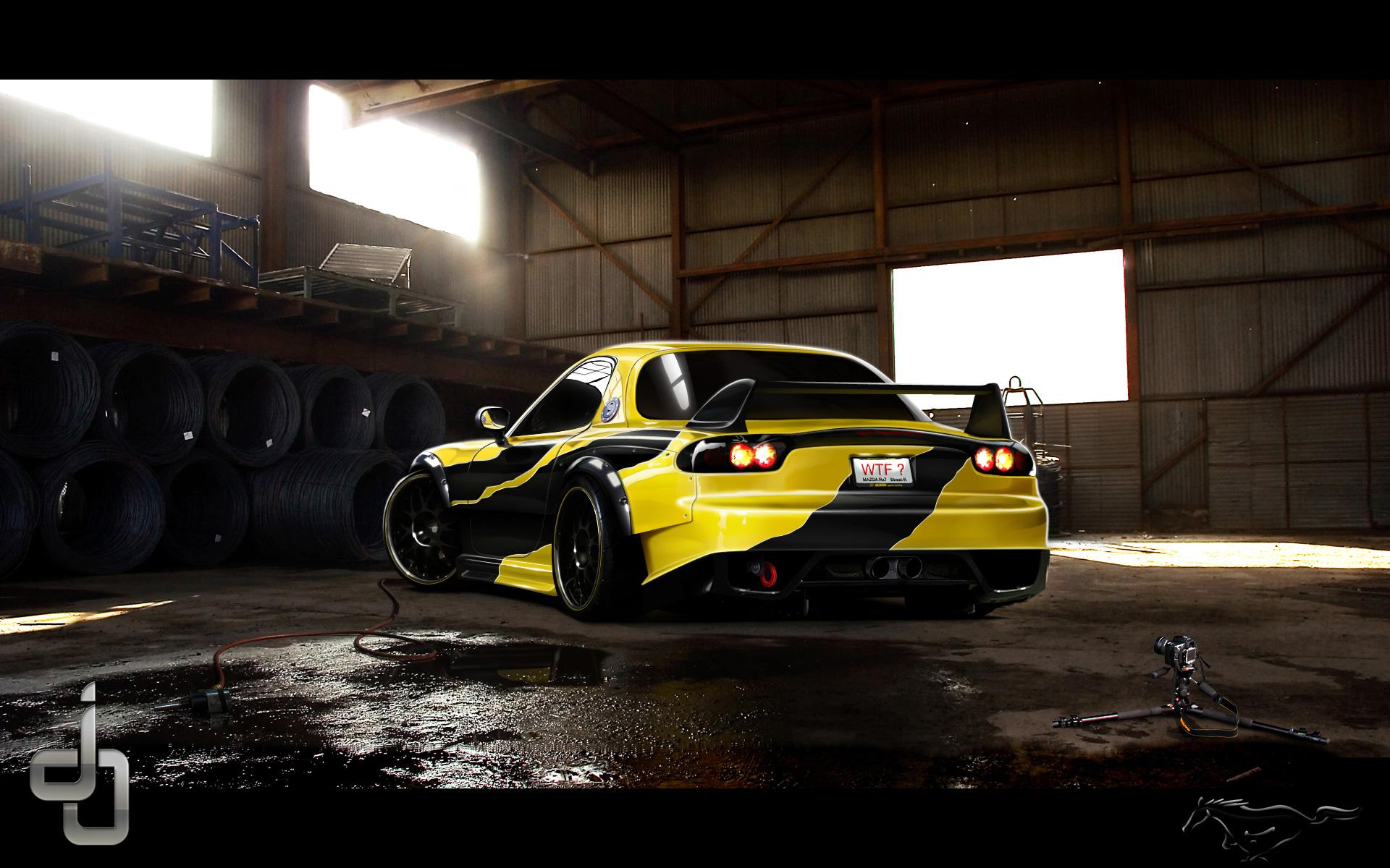Mazda Rx 7 Wallpapers High Quality Download Free 1991 Engine Diagram