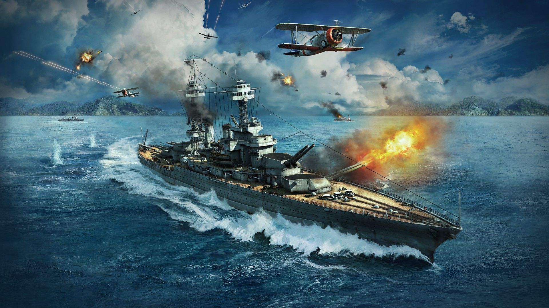 World Of Warships Wallpapers High Quality | Download Free