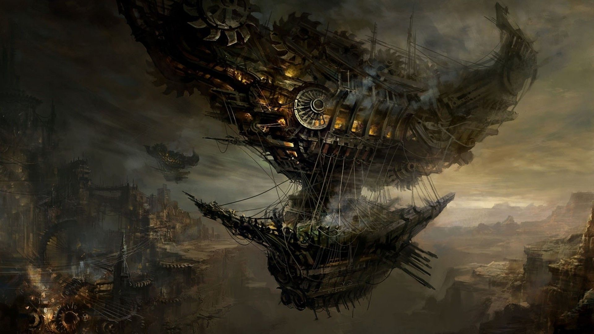 Steampunk wallpapers high quality download free for Sfondi 1920x1080
