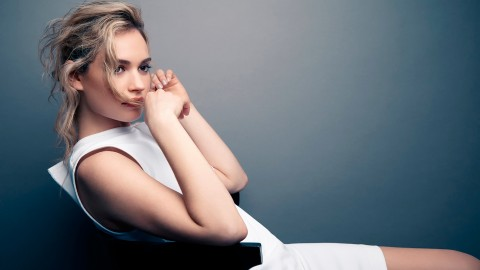 Lily James wallpapers high quality