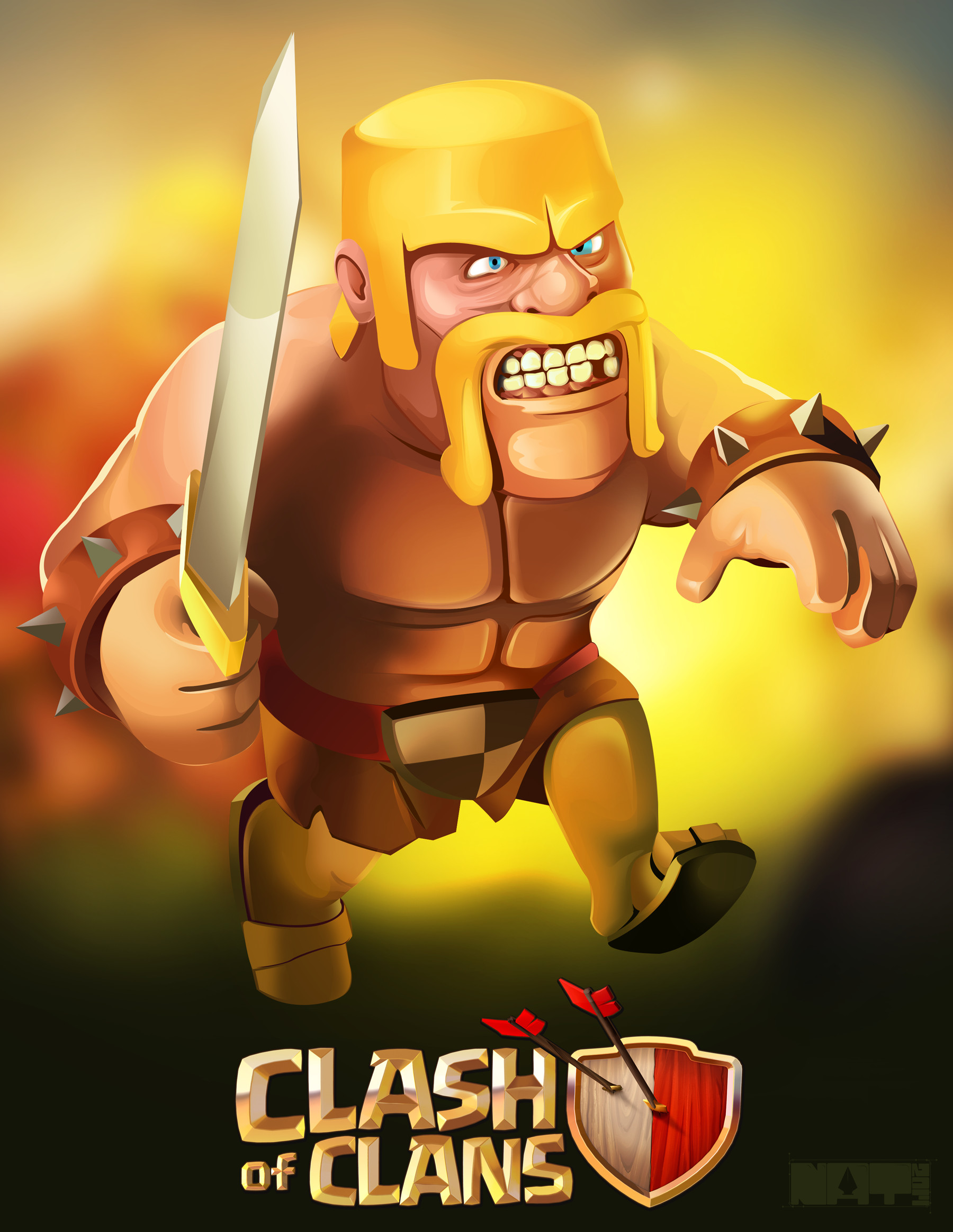 Clash Of Clans Wallpapers High Quality Download Free