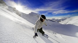Snowboarding wallpaper for mobile #177
