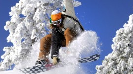 Snowboarding wallpaper for PC #896