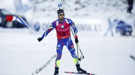 Biathlon Desktop Background