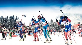 Biathlon Wallpaper Full HD