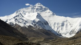 Everest Mountain Desktop Wallpaper For PC