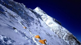 Everest Mountain Desktop Background
