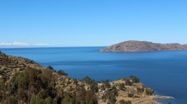Lake Titicaca Desktop Background
