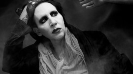 Marilyn Manson Desktop Background