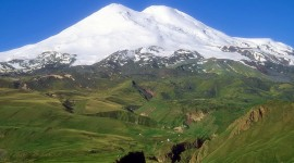 Mount Elbrus Wallpaper For IPhone