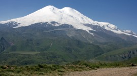 Mount Elbrus Desktop Background