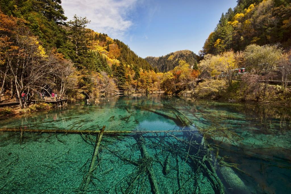 Jiuzhai Valley National Park wallpapers HD
