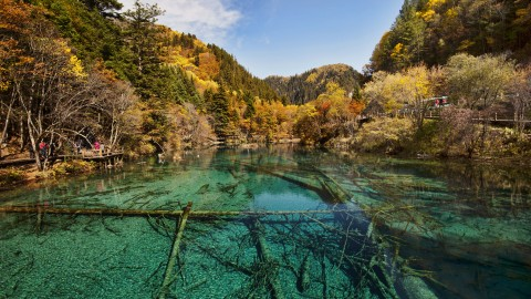 Jiuzhai Valley National Park wallpapers high quality