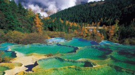 Jiuzhai Valley National Park Photo