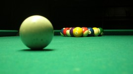 Billiards Desktop Background