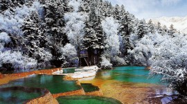 Jiuzhai Valley National Park Image