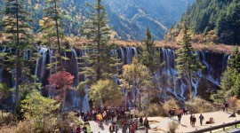Jiuzhai Valley National Park Wallpaper 1080p