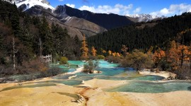 Jiuzhai Valley National Park Best Wallpaper
