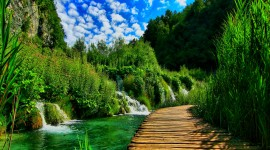 Plitvice Lakes Wallpaper For IPhone