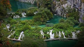Plitvice Lakes Desktop Background
