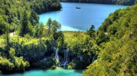 Plitvice Lakes Desktop Wallpaper