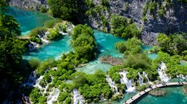 Plitvice Lakes Desktop Wallpaper HQ