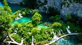 Plitvice Lakes Wallpaper Background