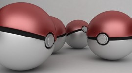 Pokeball Desktop Wallpaper HD