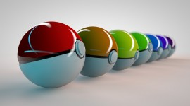 Pokeball Desktop Wallpaper HQ