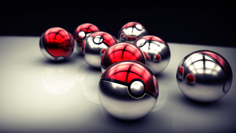 Pokeballs wallpapers high quality