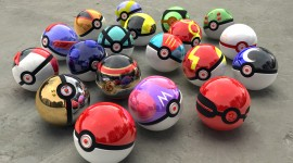 Pokeballs Desktop Wallpaper Free