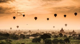 Bagan Myanmar Desktop Background