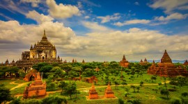 Bagan Myanmar Desktop Wallpaper