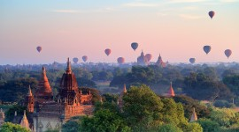Bagan Myanmar Wallpaper Background
