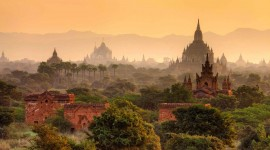 Bagan Myanmar Wallpaper For IPhone