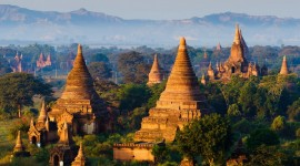 Bagan Myanmar Wallpaper Free